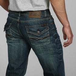 Seven7 Men's Bootcut Jean with Back Flap - Free Shipping Today ...