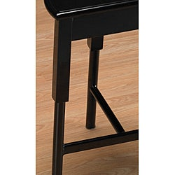 Shop Black 3 Legged Metal Counter Stools Set Of 2 Free