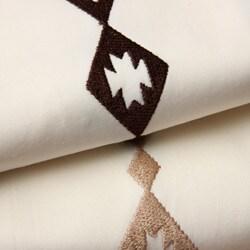 Santa Fe Embroidered 300 Thread Count Sheet Set - Thumbnail 1