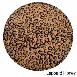 Leopard Round Placemats (Set of 6)