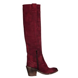 Trotta & Pagano Women's 'Sienna' Italian Leather Knee-high Boots - Thumbnail 1