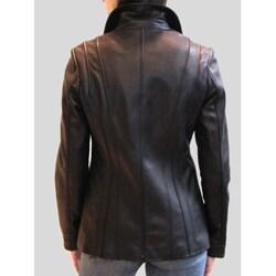 IZOD Women's New Zealand Lambskin Jacket