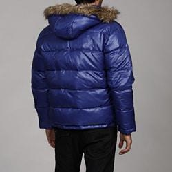 MICHAEL Michael Kors Men's Faux Fur Hooded Puffer Coat ...
