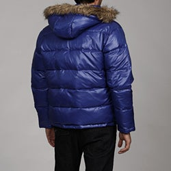 MICHAEL Michael Kors Men's Faux Fur Hooded Puffer Coat - Thumbnail 1