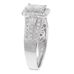 Unending Love 14k White Gold 1 1/2ct TDW Diamond Engagement Ring (H-I, I1-I2) - Thumbnail 1