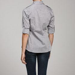 Ninety Women's Chambray Shirt - Thumbnail 1