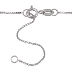 Kabella Silver Cubic Zirconia and White Drop Pearl Necklace (8.5-9 mm)
