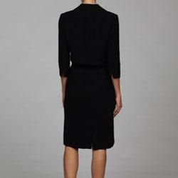 Jessica Howard Women's 2-piece 3/4-length Sleeve Jacket Dress