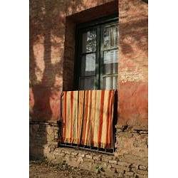 Cotton Cardo Beige Throw (Argentina) - Thumbnail 1