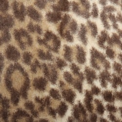 Leopard Print Faux Fur 3-piece Queen-size Duvet Cover Set - Thumbnail 1