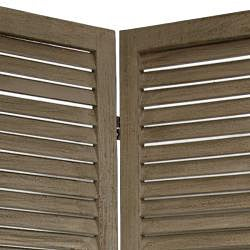 Wood Classic Venetian 4-panel 5.5-foot Room Divider (China)