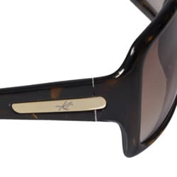 Kenneth Cole Women's KC6050 Oversized Sunglasses - Thumbnail 1