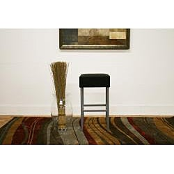 Modern Faux Leather Bar Stool by Baxton Studio - Thumbnail 1