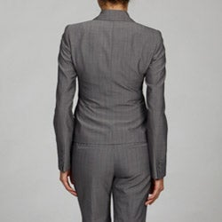 Anne Klein Women's Pinstripe Pant Suit - Thumbnail 1