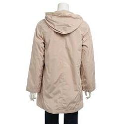 Women's Hooded Zip-front Jacket - Thumbnail 1