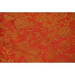 Flowering Lotus Citrus Floor Lamp (Vietnam) - Thumbnail 1