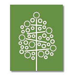 Trendography Prints  'Spring Tree' Graphic Art Print