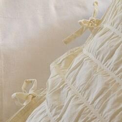 Seabury Voile Cotton Full/ Queen-size 3-piece Duvet Cover Set - Thumbnail 1