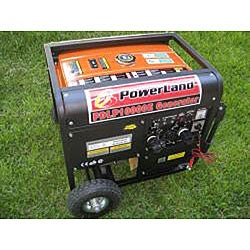 Dual Fuel (Gas and LPG) 10000 W 16 HP / Electric Start Generator - Thumbnail 1