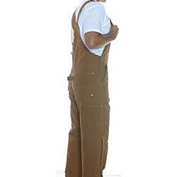 Carhartt Quilted Lined Duck Bib Overalls - Thumbnail 1