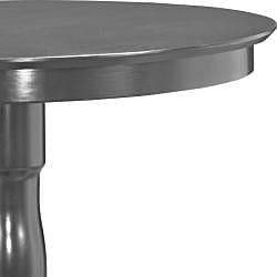 Calais Black Round Pub Height Table