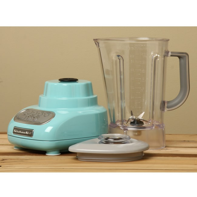 Shop Kitchenaid Ksb560aq Aqua Sky 5 Speed Blender Free