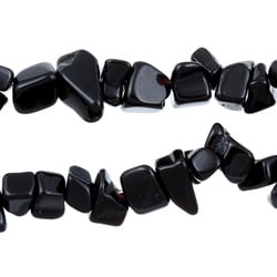 Angelina D'Andrea Onyx Nugget 54-inch Endless Necklace