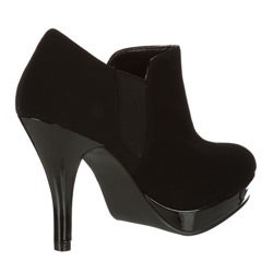 Unlisted by Kenneth Cole Women's 'File Away' Button Platform Booties