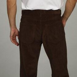 George & Martha Men's 5-pocket Corduroy Pants - Thumbnail 1