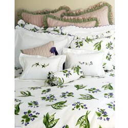 Mary's Garden Twin-size Duvet Cover Set - Thumbnail 1