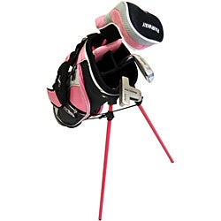 Tour Edge Girl's Right Hand Geo Max 2x1 Junior Golf Set