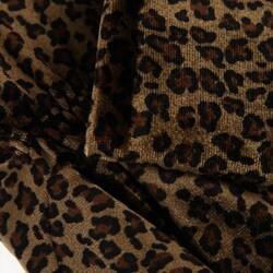 Shop Cejon Women S Animal Print Velvet Gloves Free