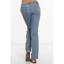 Rue Blue Women's St. Tropez Wash Flare Jeans