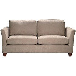 Microfiber Midsize Small Space 74-inch Sofa - Thumbnail 1