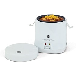 Wolfgang Puck White 1.5-cup Portable Rice Cooker with WP Recipes (Refurbished)
