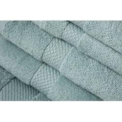 Turkish Organic Cotton Dreamy Blue 6-piece Towel Set