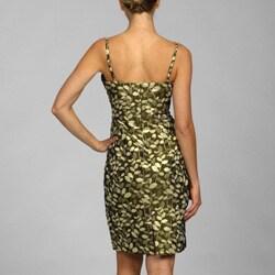 Thumbnail 2, Maggy London Women's Brocade Dress. Changes active main hero.