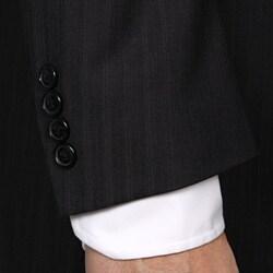 Austin Reed Men's 'Reflex' Charcoal Stripe Suit