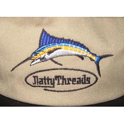 Natty threads long bill fishing cap free shipping on for Long bill fishing hat