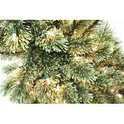 Good Tidings 4.5-feet Cashmere Artificial Prelit Christmas Tree