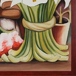 Diego Rivera Corn Festival, (La Fiesta del Maiz) Painting