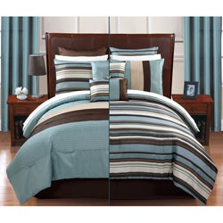 Regatta 12-piece Bed in a Bag with Sheet Set - Thumbnail 1