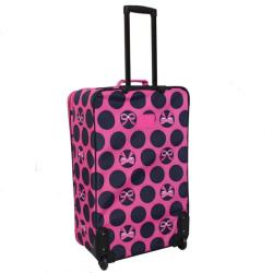 Rockland Designer Expandable 4-piece Luggage Set