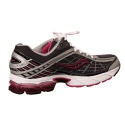 Saucony Women's Grid Raider Running Shoe,BlackPinkSilver
