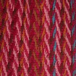 La Fiorentina Striped Wool Scarf - Thumbnail 1