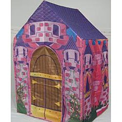 2-in-1 Cottage Princess Castle Play House Tent - Thumbnail 1
