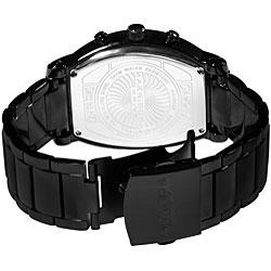 Akribos XXIV Men's Multifunction Diamond Tonneau Swiss Quartz Watch - Thumbnail 1