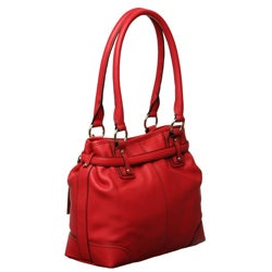 Etienne Aigner 'Tuscon' Leather Tote - Thumbnail 1