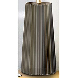 Tristan Forest Green/ Gold Table Lamp - Thumbnail 1