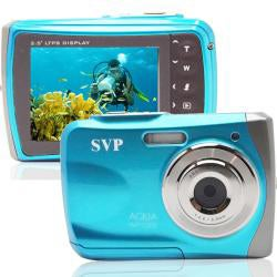 SVP WP5300 Waterproof Blue 12 MP Digital Video Camera
